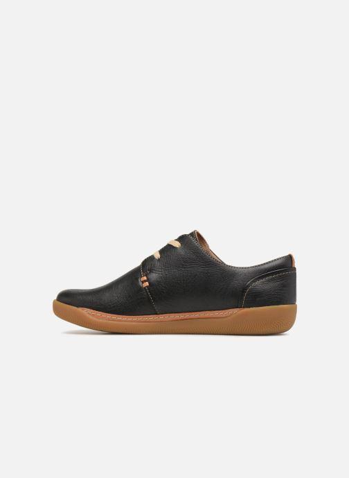 Sneakers Clarks Unstructured Un Haven Lace Zwart voorkant