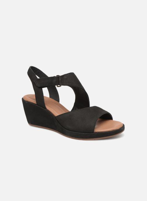 0588dca9d71 Clarks Unstructured Un Plaza Sling (Black) - Sandals chez Sarenza ...