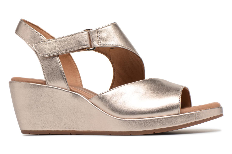 Sandales et nu-pieds Clarks Unstructured Un Plaza Sling Or et bronze vue derrière