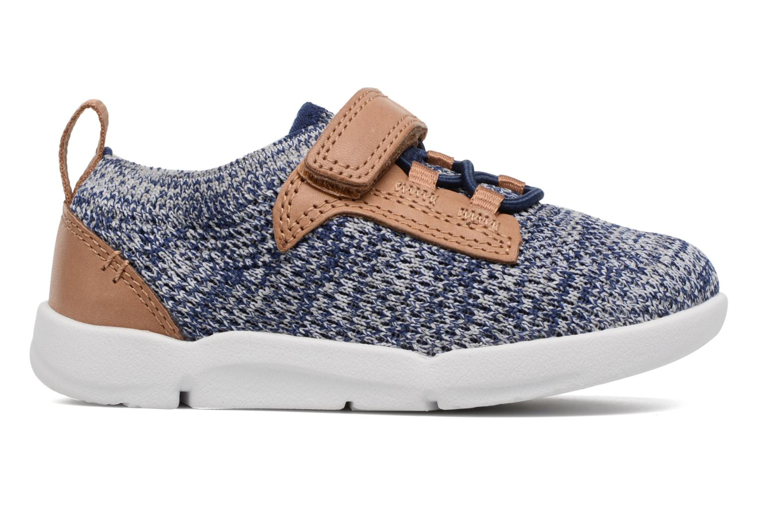 Trainers Clarks Tri Move Blue back view