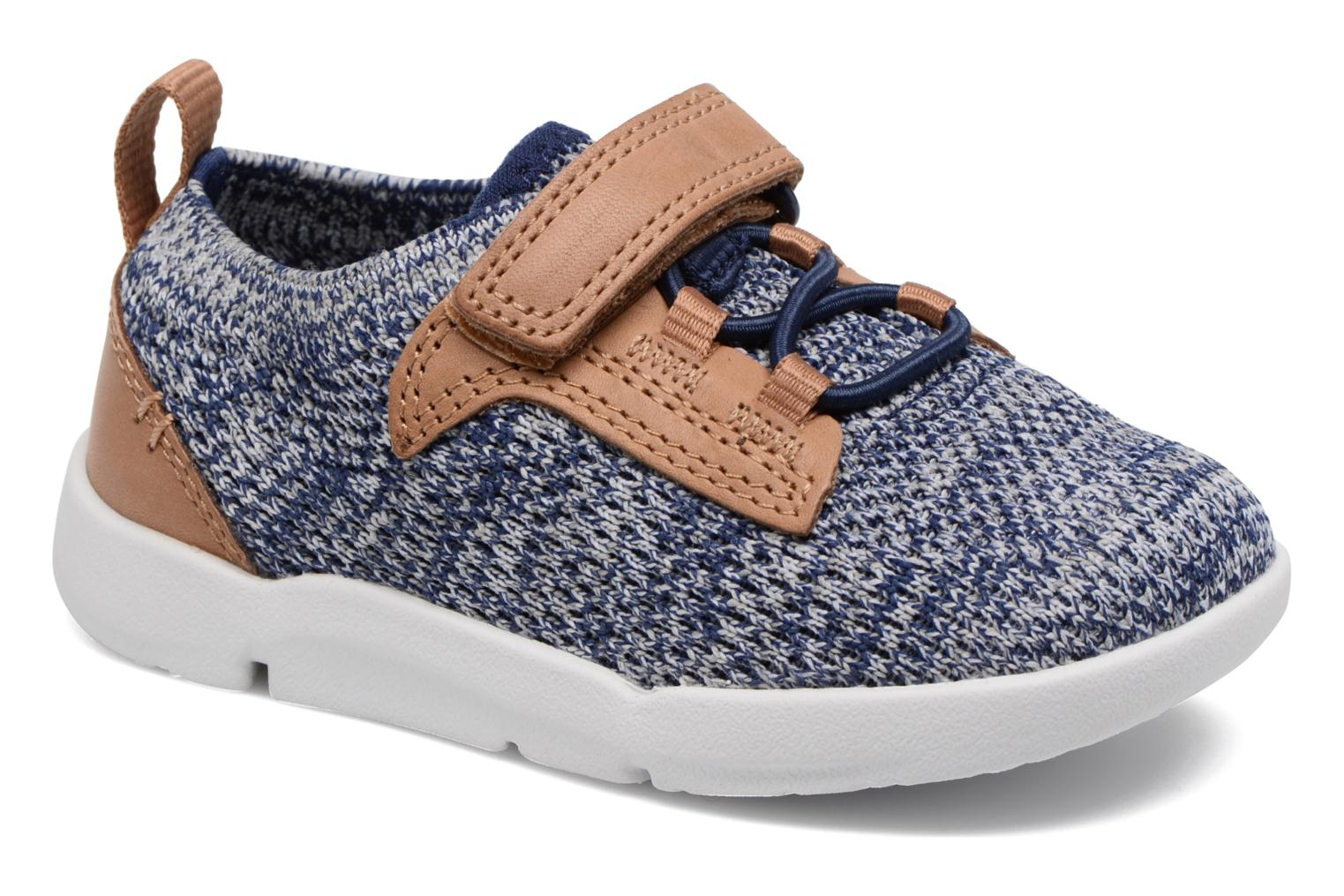 Trainers Clarks Tri Move Blue detailed view/ Pair view