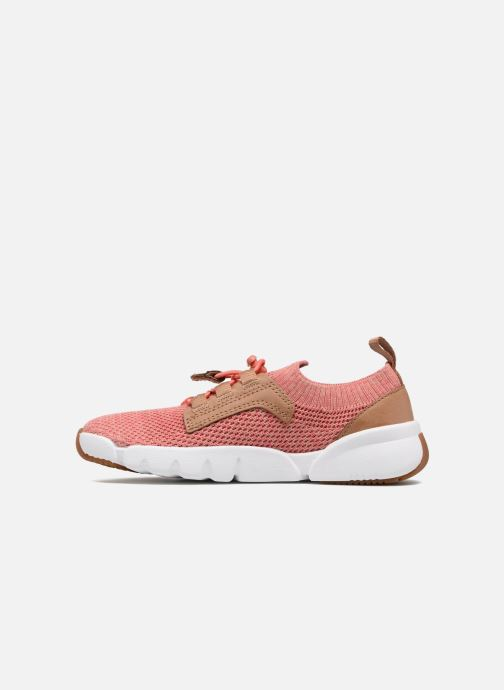 Baskets Clarks Tri Jump Rose vue face