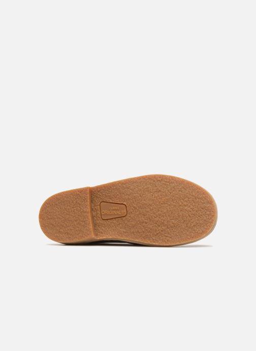 Chaussures à lacets Clarks Desert Boot K Beige vue haut