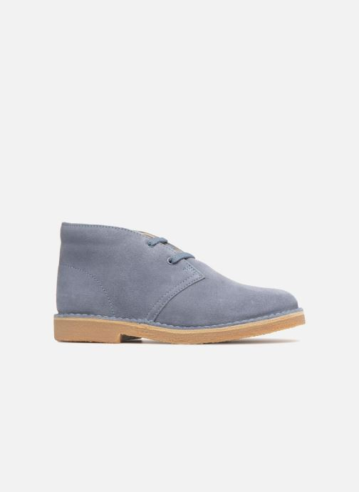 Chaussures à lacets Clarks Desert Boot K Bleu vue derrière