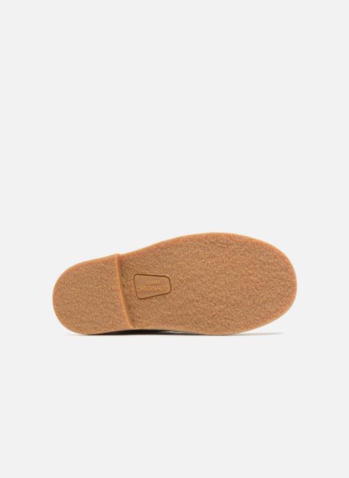 Chaussures à lacets Clarks Desert Boot K Bleu vue haut