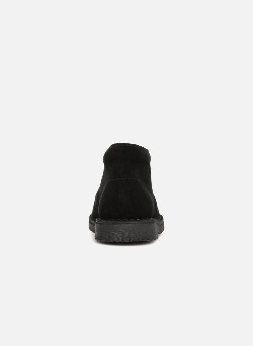 Scarpe con lacci Clarks Desert Boot K Nero immagine destra