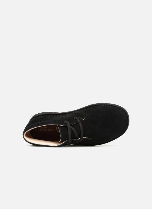 Scarpe con lacci Clarks Desert Boot K Nero immagine sinistra