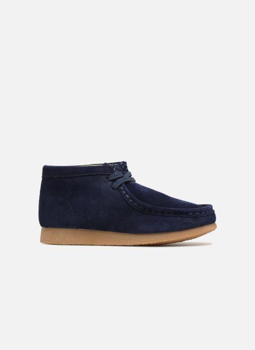 Chaussures à lacets Clarks Wallabee Bt Bleu vue derrière