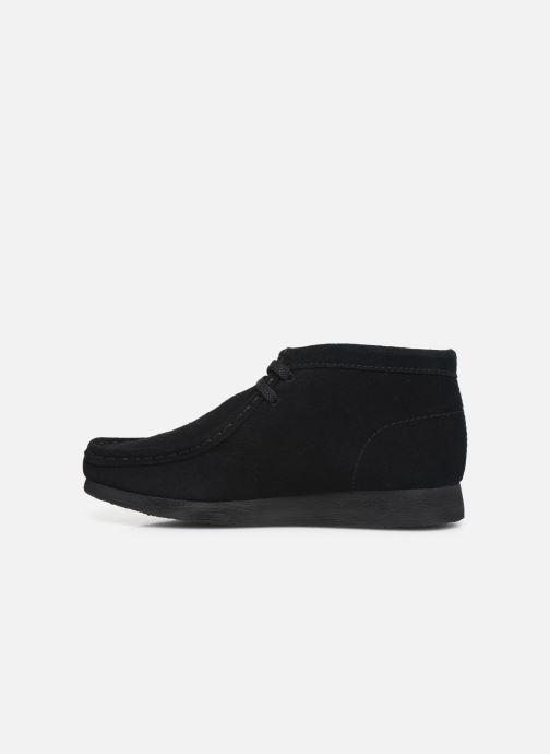 Chaussures à lacets Clarks Wallabee Bt Noir vue face
