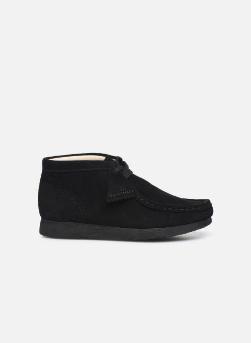 Zapatos con cordones Clarks Wallabee Bt Negro vistra trasera