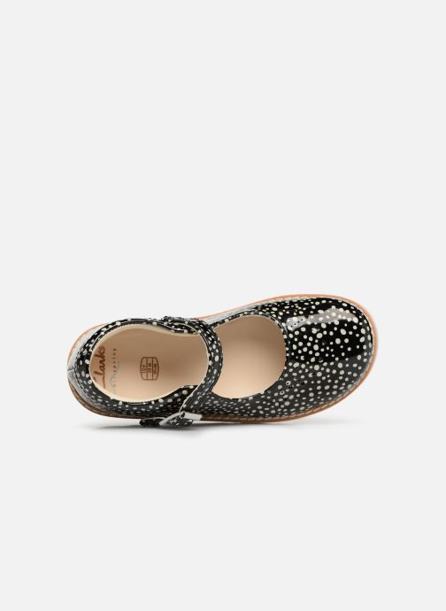 Ballet pumps Clarks Crown Jump Black view from the left