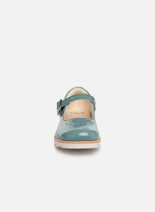 Ballet pumps Clarks Crown Jump Blue model view