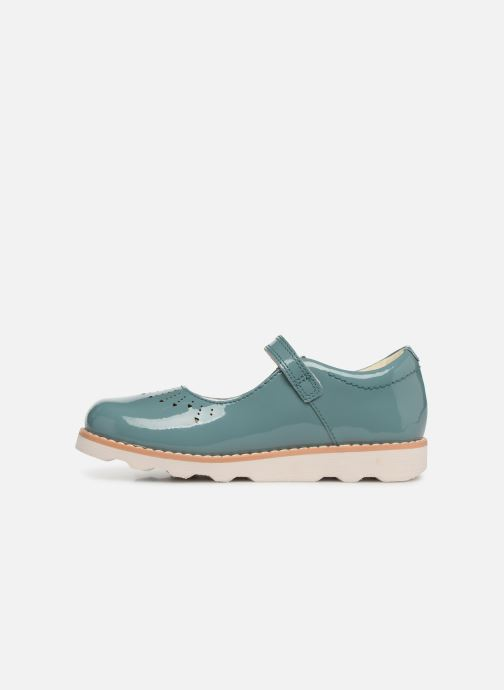 Ballet pumps Clarks Crown Jump Blue front view