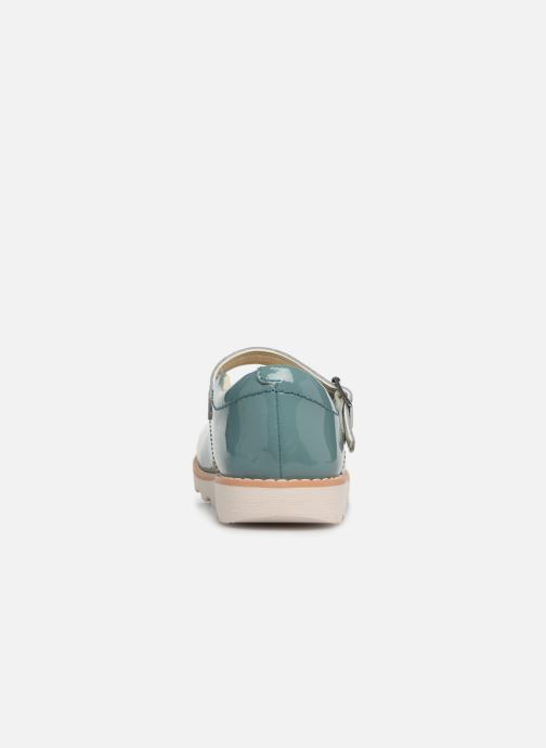 Ballet pumps Clarks Crown Jump Blue view from the right