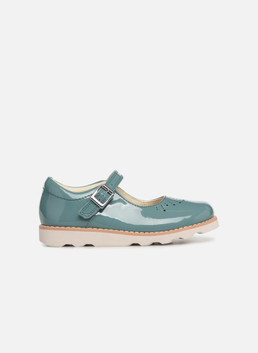 Ballet pumps Clarks Crown Jump Blue back view