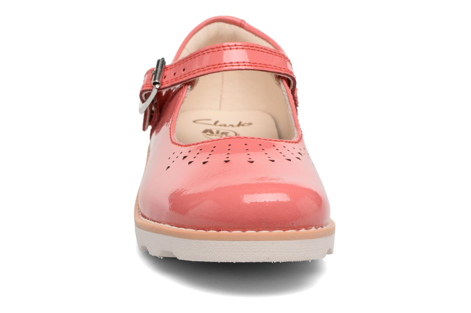 Ballet pumps Clarks Crown Jump Pink model view