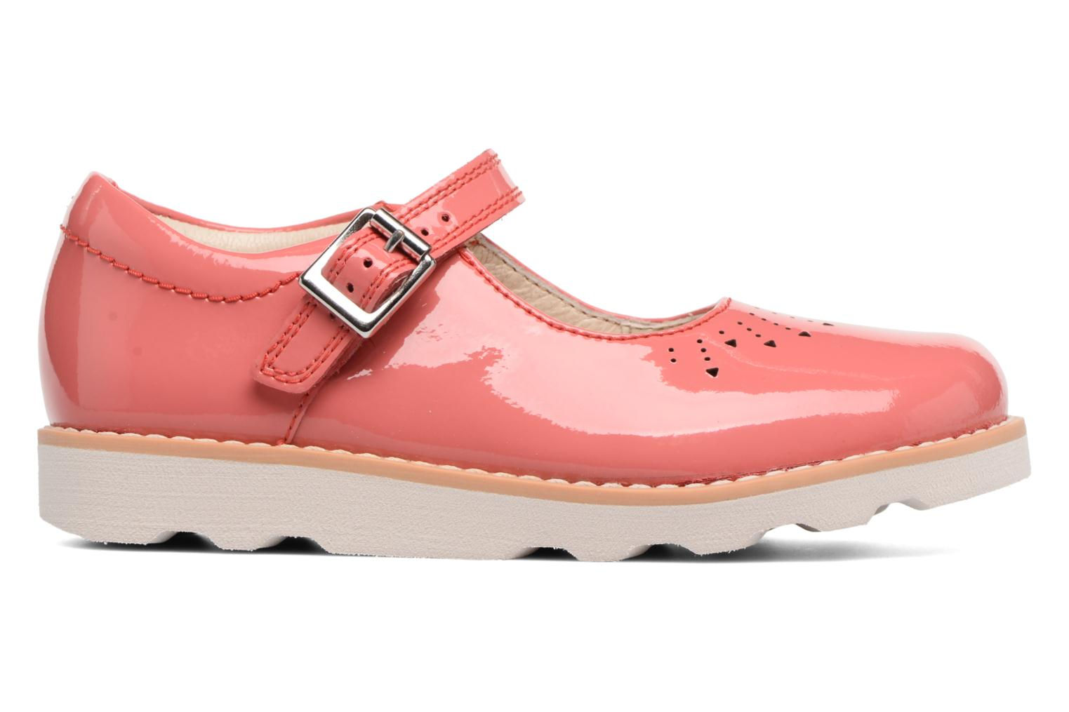 Ballet pumps Clarks Crown Jump Pink back view