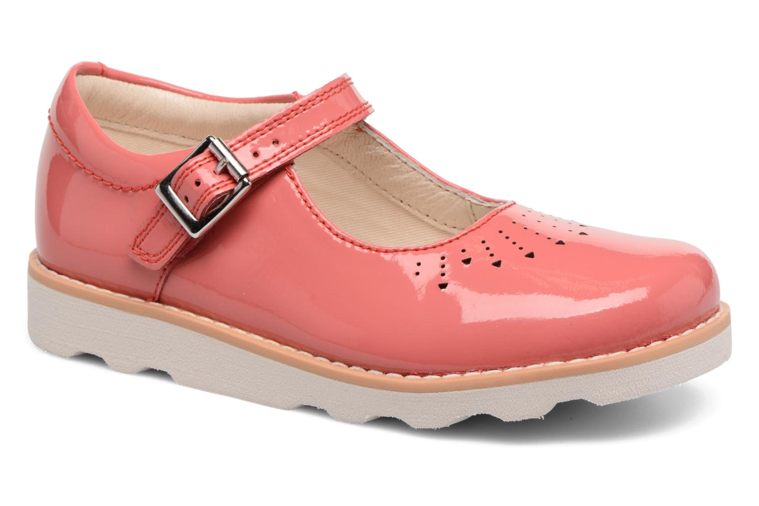 Ballet pumps Clarks Crown Jump Pink detailed view/ Pair view