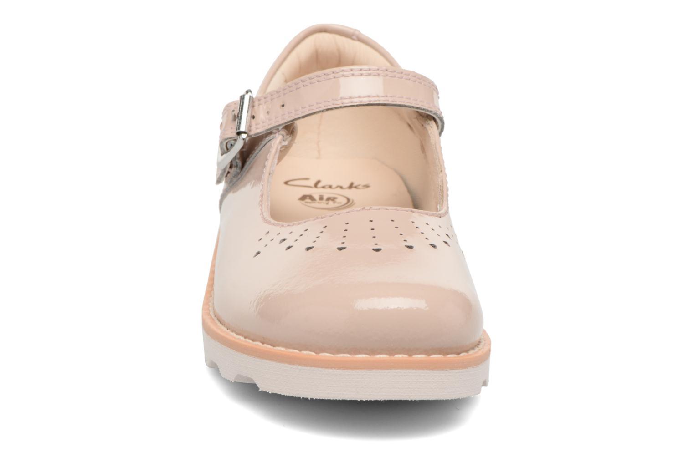 Ballet pumps Clarks Crown Jump Beige model view