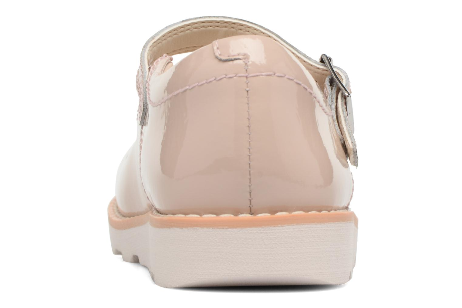 Ballet pumps Clarks Crown Jump Beige view from the right