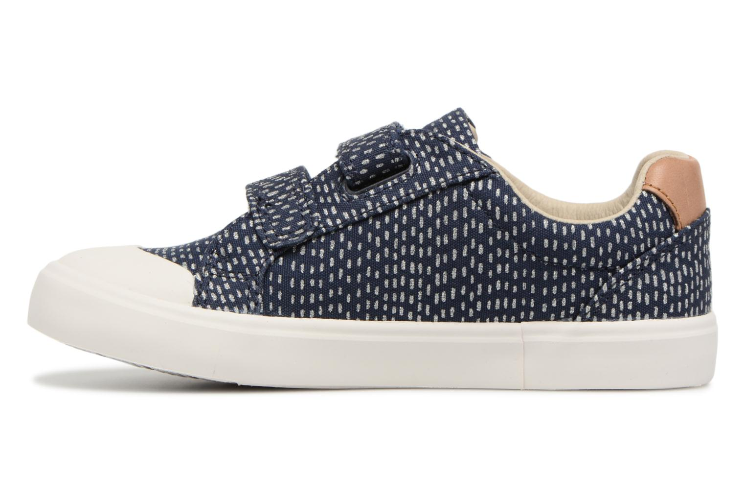 Trainers Clarks Comic Cool Blue front view