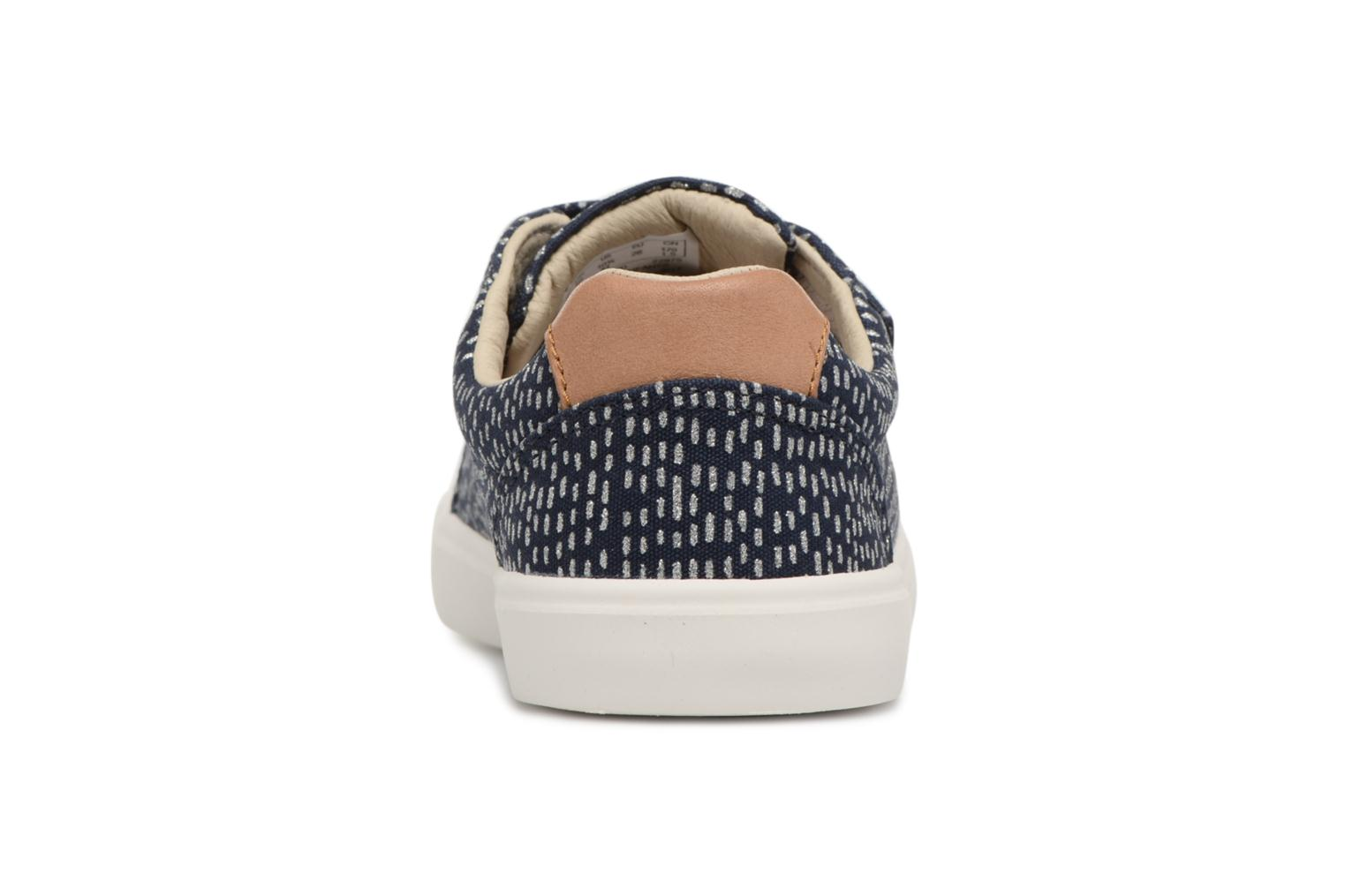Trainers Clarks Comic Cool Blue view from the right