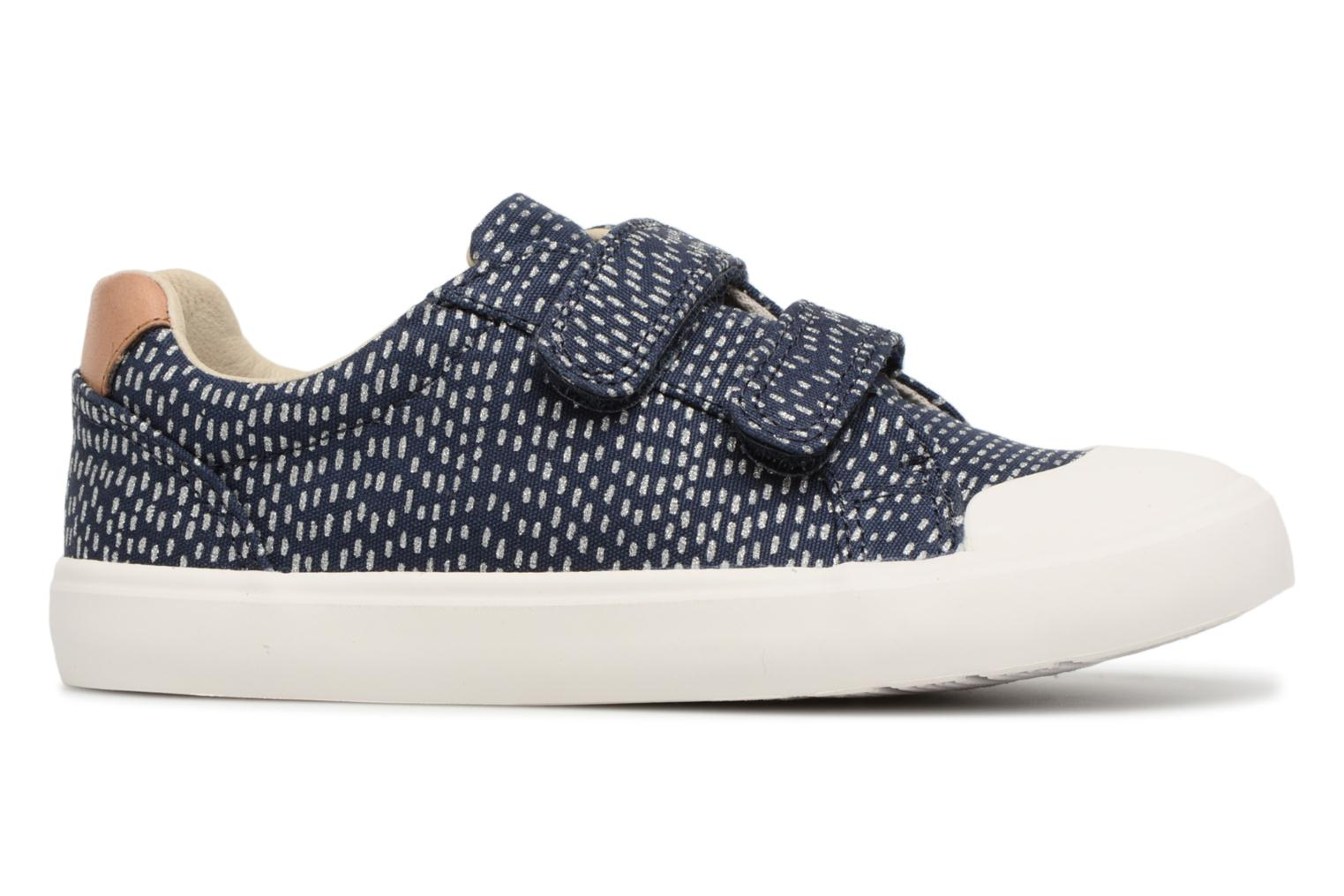 Trainers Clarks Comic Cool Blue back view