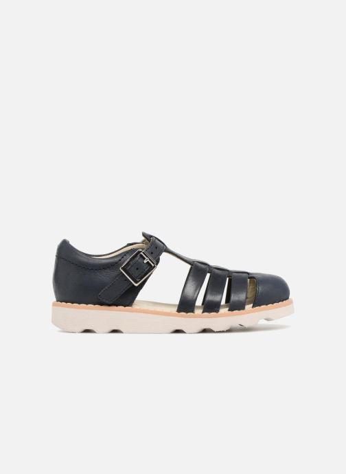 Sandales et nu-pieds Clarks Crown Stem Bleu vue derrière