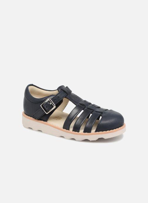 Sandales et nu-pieds Clarks Crown Stem Bleu vue détail/paire