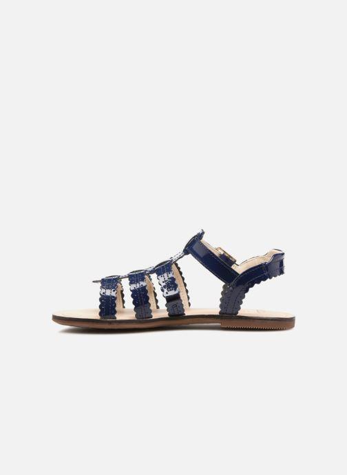 Sandales et nu-pieds Clarks Loni  Moon Bleu vue face