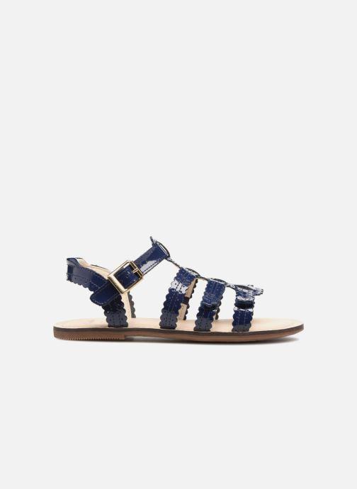 Sandales et nu-pieds Clarks Loni  Moon Bleu vue derrière