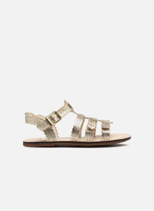 Sandales et nu-pieds Clarks Loni  Moon Or et bronze vue derrière