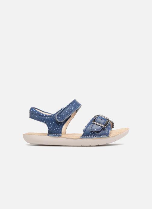 Sandales et nu-pieds Clarks Ivy Blossom Inf Bleu vue derrière