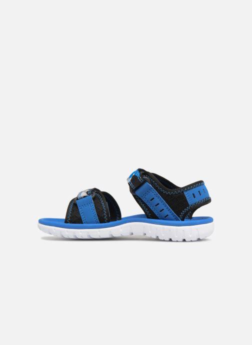 Sandales et nu-pieds Clarks Surfing Coast Bleu vue face