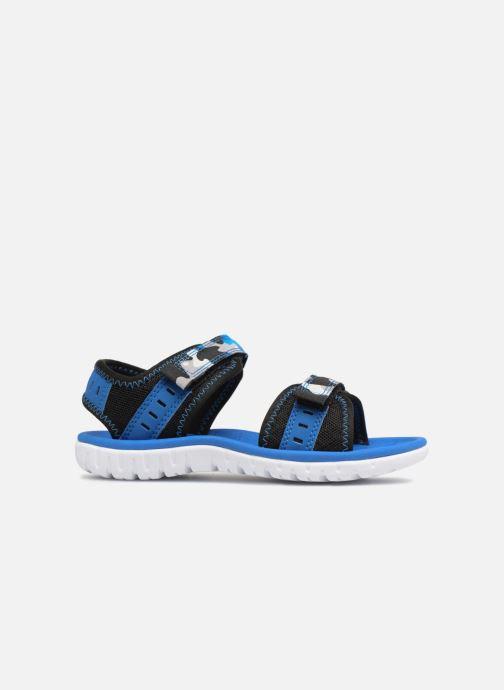 Sandales et nu-pieds Clarks Surfing Coast Bleu vue derrière