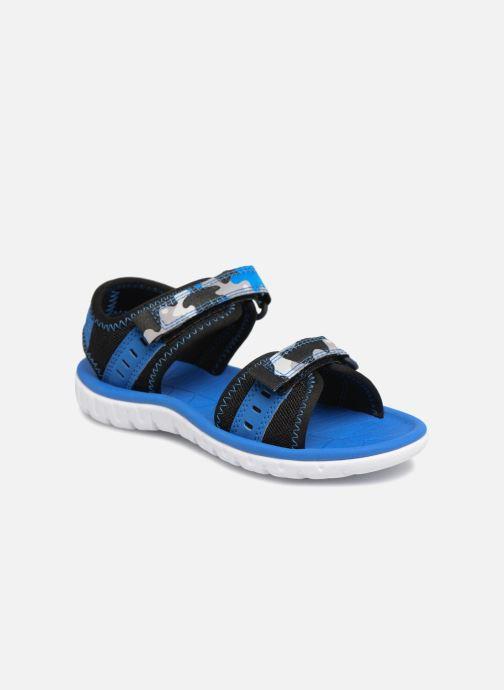 Sandales et nu-pieds Clarks Surfing Coast Bleu vue détail/paire