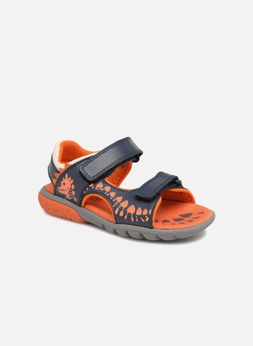 Sandales et nu-pieds Clarks Rocco Surf Bleu vue détail/paire
