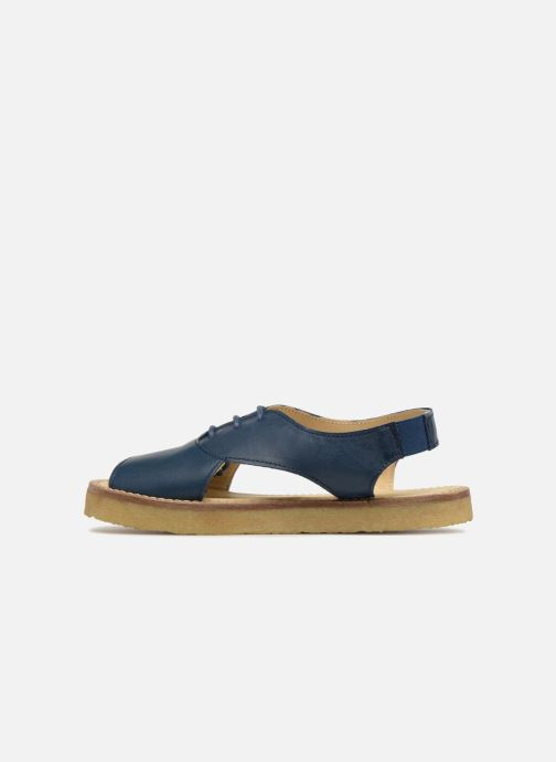Sandales et nu-pieds Tinycottons Crepe lace sandals Bleu vue face