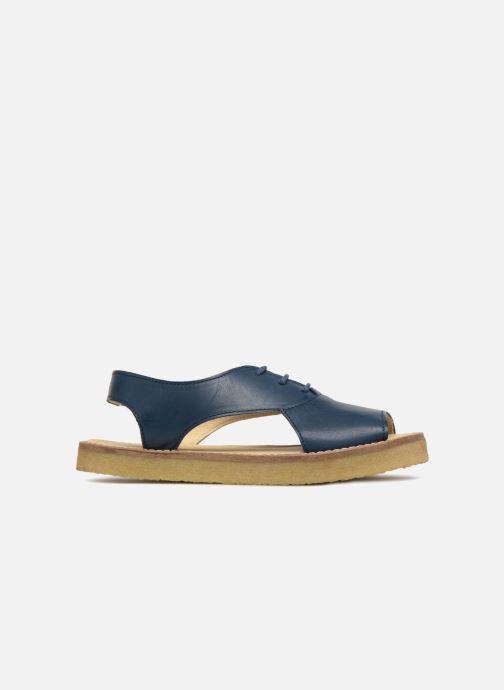 Sandales et nu-pieds Tinycottons Crepe lace sandals Bleu vue derrière