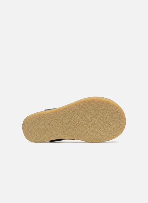 Sandales et nu-pieds Tinycottons Crepe lace sandals Bleu vue haut