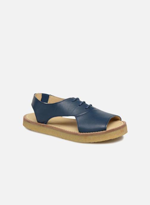 Sandales et nu-pieds Tinycottons Crepe lace sandals Bleu vue détail/paire