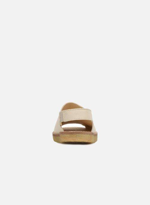 Sandalias Tinycottons Crepe solid sandals Beige vista lateral derecha