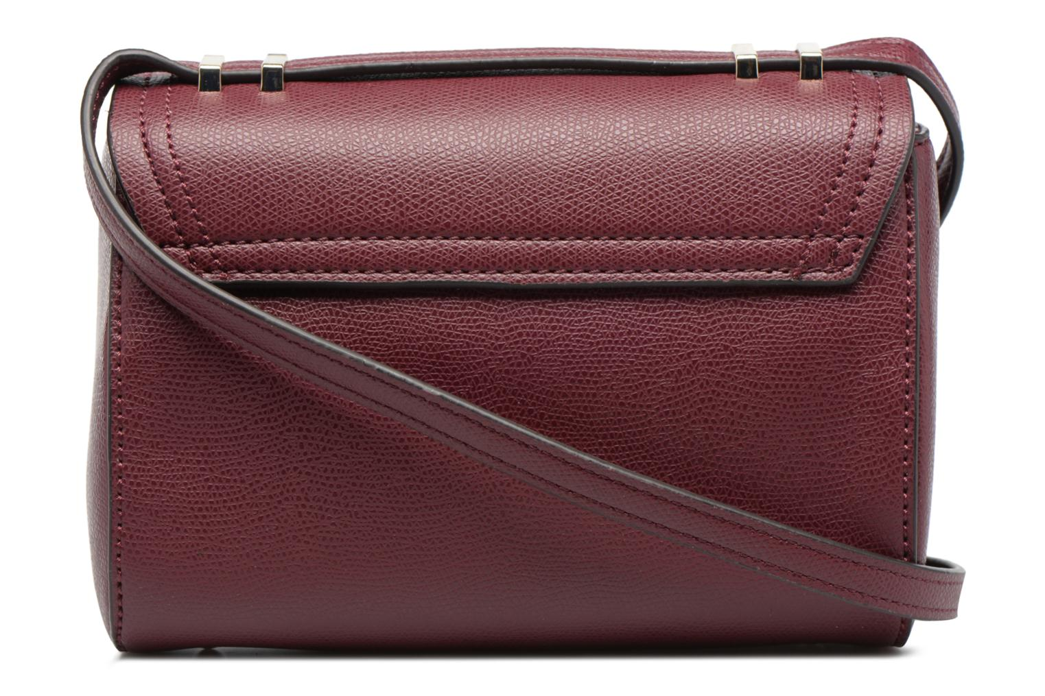 Sacs à main Guess Crossbody Bordeaux vue face