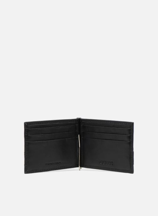 Kleine lederwaren Guess CARD CASE/BLA Zwart achterkant