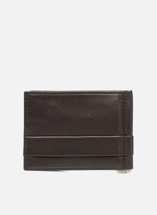 Kleine lederwaren Guess CARD CASE/DKB Bruin voorkant