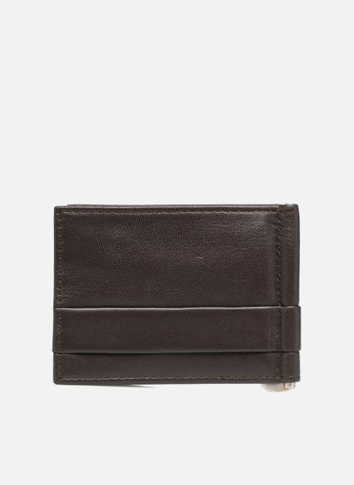Marroquinería pequeña Guess CARD CASE/DKB Marrón vista de frente