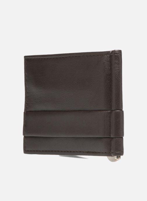 Kleine lederwaren Guess CARD CASE/DKB Bruin rechts