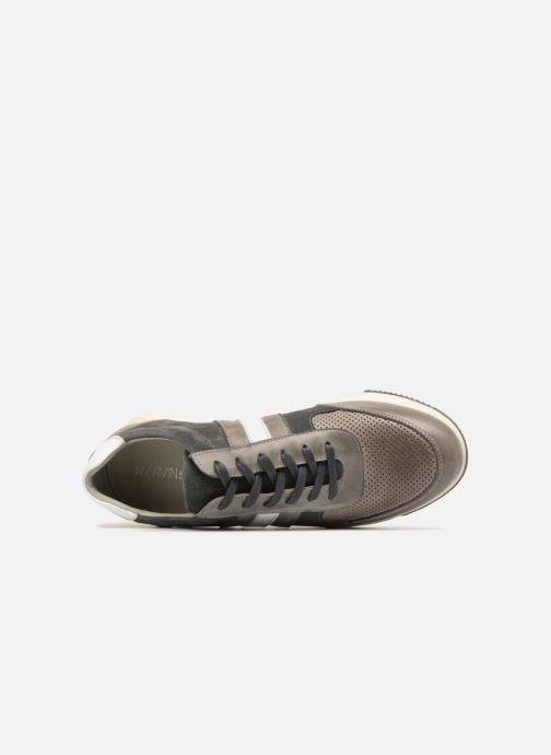 Trainers Marvin&co Doncaster Grey view from the left