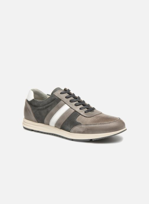Trainers Marvin&co Doncaster Grey detailed view/ Pair view