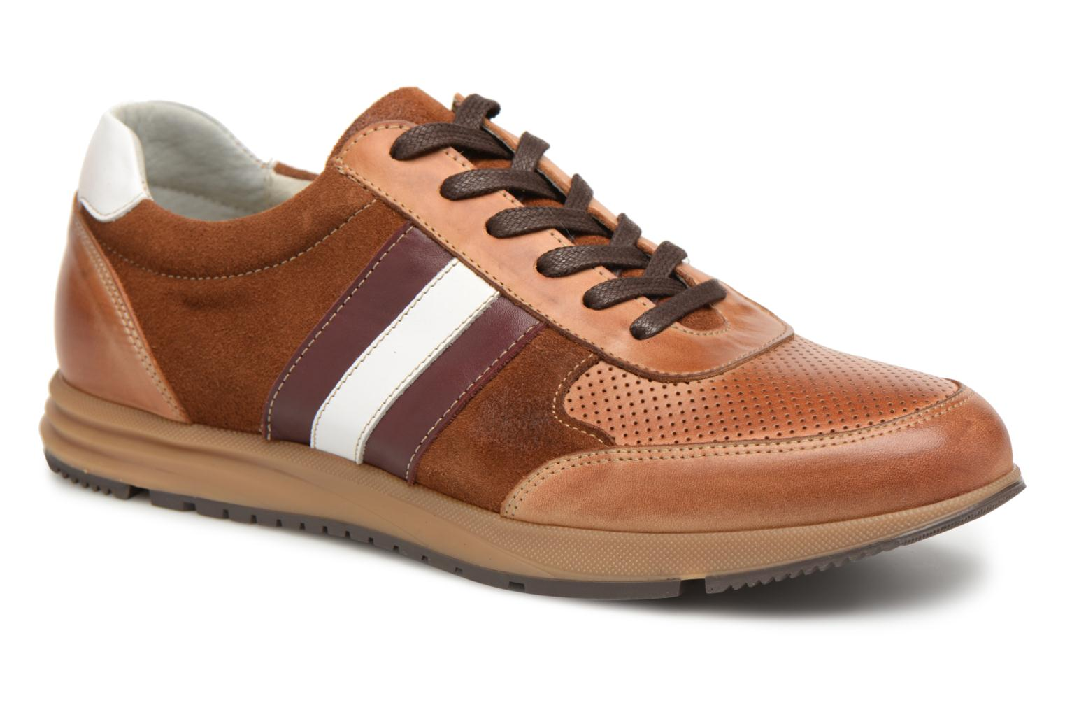 Sneakers Marvin&Co Doncaster Bruin detail